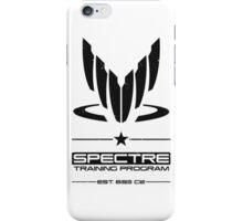 Spectre Training Program - Black iPhone Case/Skin