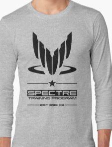 Spectre Training Program - Black Long Sleeve T-Shirt