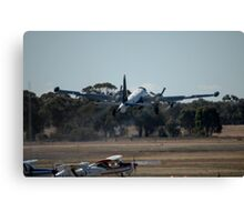 Two Turning, Two Burning - @ Temora 2007 Canvas Print