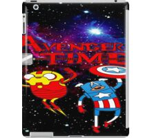 Adventure Time in nebula iPad Case/Skin