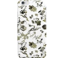 Inked Toile Wild Rose in Green iPhone Case/Skin