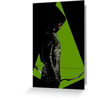 Arrow Vigilante Greeting Card
