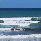 Lone Surfer !!! by Heabar