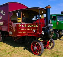 Steam Trucks at Pitney steam fair by SWEEPER