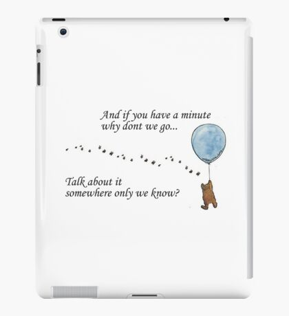"Keane ""Somewhere Only We Know"" Balloon iPad Case/Skin"