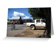 Bright's Cyclists Greeting Card