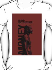 Money Mayweather_red T-Shirt