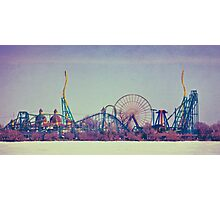 Cedar Point Skyline Photographic Print