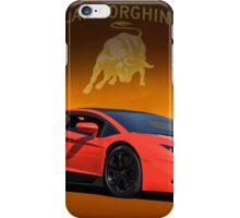 2012 Lamborghini Aventador - Pass Side iPhone Case/Skin