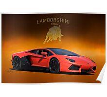 2012 Lamborghini Aventador - Pass Side Poster