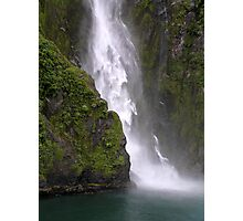 Stirling Falls, Milford Sound Photographic Print