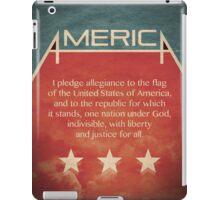 Pledge of Allegiance iPad Case/Skin
