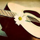 Guitar & Daisy by AndreaMcClain