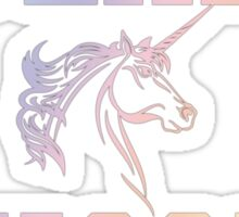 Team Unicorn Sticker