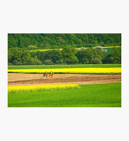 Horseback Excursion Photographic Print