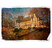 Forgotten Postcard - Groot Bijgaarden, Belgium Poster