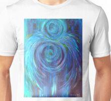 Sanctuary, hold me in blue Unisex T-Shirt