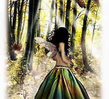 Autumn Faerie by dimarie