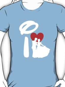 I Heart Happily Ever After (Inverted) T-Shirt