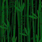 Bamboo trees by Richard Laschon