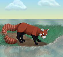 Red Panda by Palomino1234