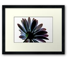 just there Framed Print