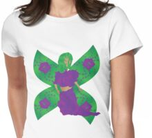 Shy Rose Fairy Womens Fitted T-Shirt