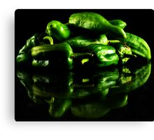 Hot Green Canvas Print