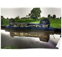 Narrow Boat - Ripon Canal Poster
