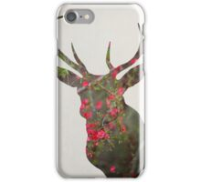 Deer With Quince iPhone Case/Skin