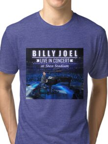 Billy Joel live in concert at shea stadium Tri-blend T-Shirt