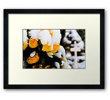 Memorial Wreath Framed Print