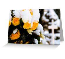Memorial Wreath Greeting Card