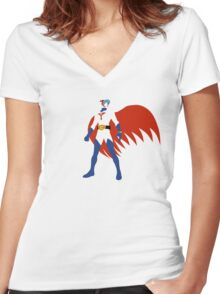 Gatchaman Women's Fitted V-Neck T-Shirt