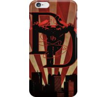 Daredevil Art Deco style iPhone Case/Skin