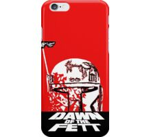 DAWN OF THE FETT iPhone Case/Skin
