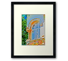 dream window... Framed Print
