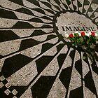 imagine - strawberry fields - NYC - Central Park  by bron stadheim
