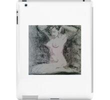Charcoal figure study iPad Case/Skin