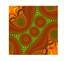 Colorful Patterns Art Print