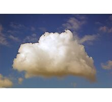 spring clouds Photographic Print