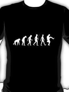 Evolution of Man (White Version) T-Shirt