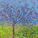Purple Tree by -KAT-