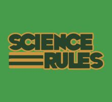 Science RULES One Piece - Short Sleeve