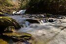 Falls Along Mill Brook - Rapids Below the Falls by Stephen Beattie