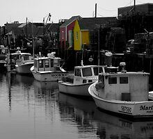 Fishing Harbor ~ Part Two by artisandelimage