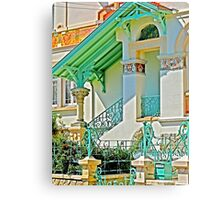 great architect Canvas Print