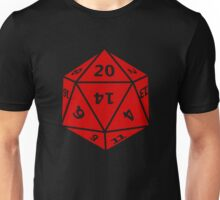20 Sided Dice D20 Unisex T-Shirt
