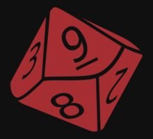 10 Sided Dice D10 by BenjiKing