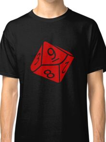 10 Sided Dice D10 Classic T-Shirt